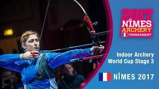 Jin Yun v Claudia Mandia – Recurve Women's Gold Final   Nîmes 2017