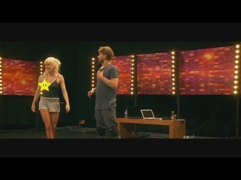 De nipple slip van Josje van K3 (Dansdate)