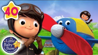 Song About Planes | +More Nursery Rhymes & Kids Songs | Little Baby Bum