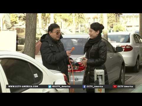 Electric cars growing in popularity in China