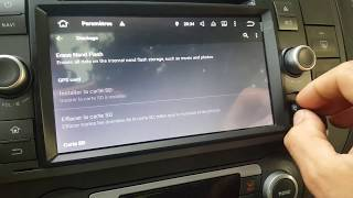 "Problème autoradio ERISIN 7"" GPS Android FORD C-MAX 3066TF - carte micro SD"