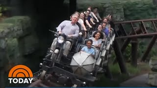See A 1st Look At New Hagrid Coaster At Wizarding World Of Harry Potter | TODAY