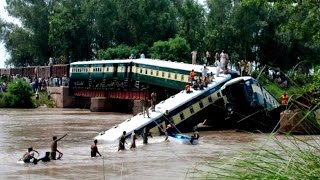 Pakistan Train Accident | Troop Train plunges into Canal | Death Toll rises to 17