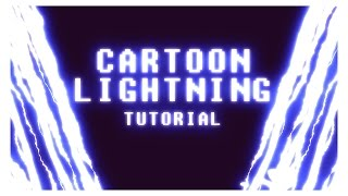 Create anime lightning in After Effects