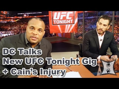 Daniel Cormier Talks With Karyn Bryant  Kenny Florian About New UFC Tonight Gig  Cains Injury
