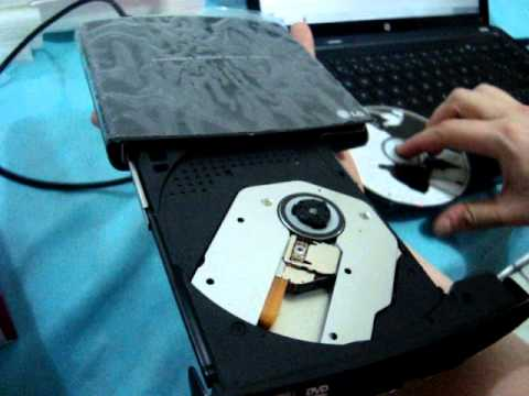 Gravador de DVD Externo Portátil USB LG GP10 - 100% Funcionando