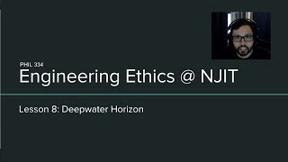 Lesson 8 - Deepwater Horizon