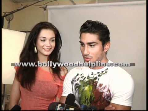 Prateik Babbar & Amy Jackson At Lawman Jeans Shoot