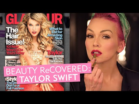 Taylor Swift's 2012 Bold Red Lip–Glamour's Beauty ReCovered with Kandee Johnson–Makeup Tips