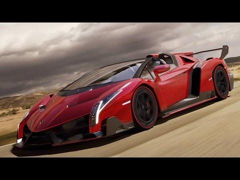 Lamborghini Veneno Roadster New Look Demo