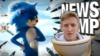 Sonic Movie Delayed?! FaZe Lawsuit Update! - News Dump