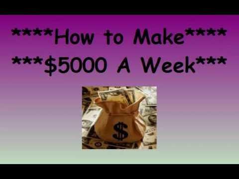 Binary options $5000 a week