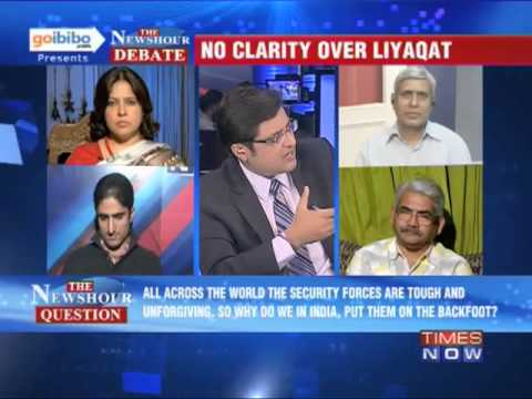 The Newshour Debate: Liyaqat Ali, a terrorist, being used as political advantage? (The Full Debate)