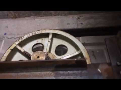 Elevator Upgrade Part 5 Reroping 875 ft of Elevator Hoist Rope #1(A)