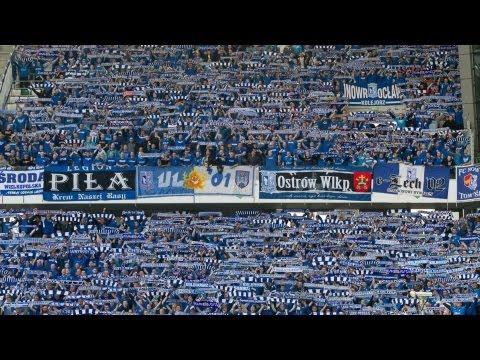Kibice Kolejorza Bawią Się W Warszawie. Legia Warszawa -  Lech Poznań 0:1, 21.04.2012