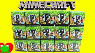 Minecraft Grass Series 1 Mini Figures Mystery Boxes