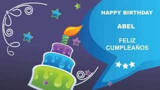 Abel english pronunciation   Card Tarjeta3 - Happy Birthday