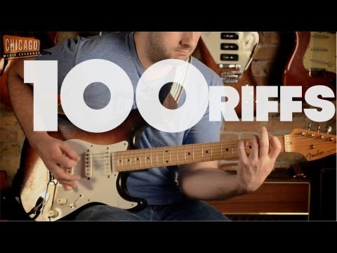 100 Riffs (a Brief History Of Rock N' Roll) video