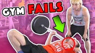 BIGGEST WORKOUT FAILS (BTS)