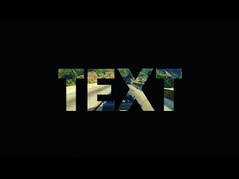 HOW TO MAKE A TRANSPARENT VIDEO TEXT EFFECT ON ANDROID