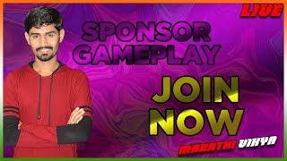 SPONSOR'S GAME-PLAY | JOIN MEMBERSHIP | PUBG Mobile With Marathi Vikya |