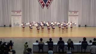 Violets in USA Nationals 2013 / Best Impression Awards!