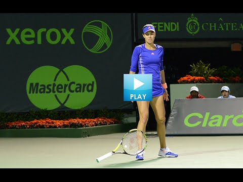 Top Women Smashing Rackets - Ivanovic's Show-Stopping Moments -Sharapova Channels Taylor Swift