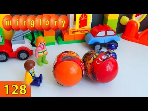 Мультики про машинки Welly cars Сюрприз - Город машинок 128 серия. Мультфильмы для детей mirglory