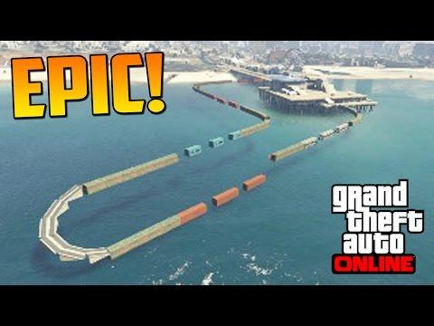 Y ESTO ES NUEVO MOLA Gameplay GTA 5 Online Funny Moments Carrera GTA V Xbox ONE