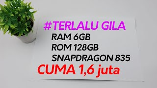 Rajanya HP Gaming Murah Snapdragon 835 Ram 6GB Cuma 1,6jt || Unboxing & Sedikit Review Ratel Cell