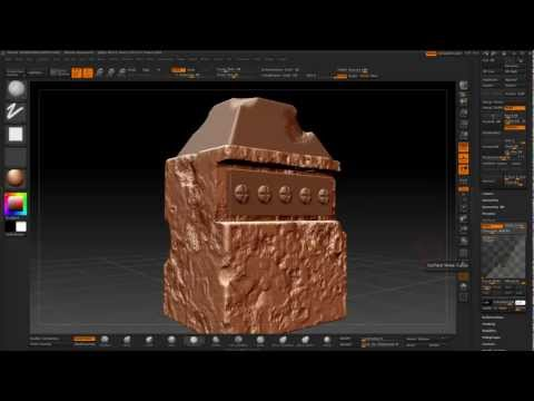 Unwrapping and maps done in zbrush 4r3 and max2012