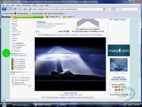 Changing and Saving Desktop Backgrounds (Windows Vista)