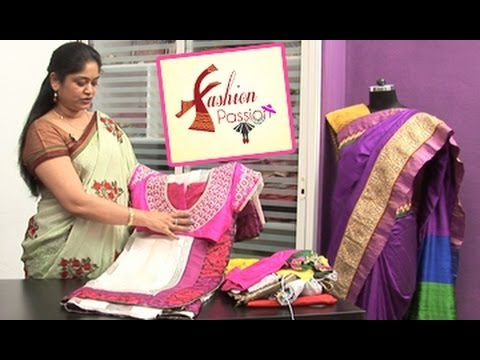 Fashion Passion || Trendy and Traditional Blouse Patterns for Sarees