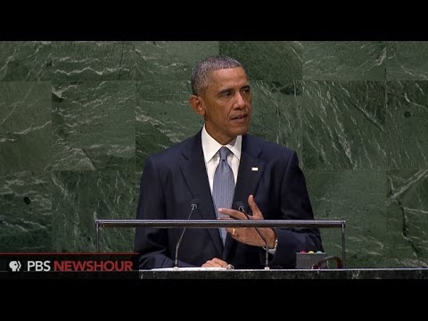 Obama takes Russia, Syria to task in UN speech
