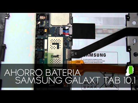 Samsung Galaxy Tab Note 10.1  Activa Ahorro De Bateria