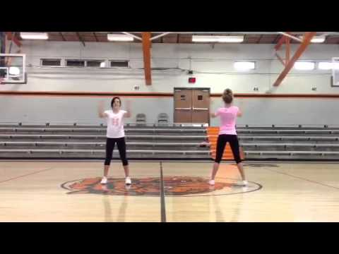 Herrin Middle School 2013 Cheerleading Tryout Sideline