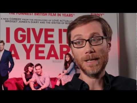 I Give It A Year trailer with Stephen Merchant introducing