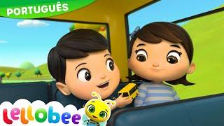 Desenho para Bebe   Ônibus Buster   As Rodas do Onibus   NOVO DESENHO!   Little Baby Bum