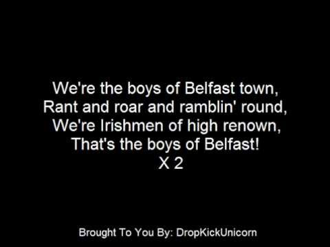 The Irish Rovers - The Boys Of Belfast - With Lyrics