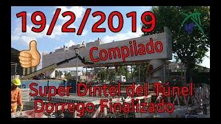 Avances en el Viaducto San Martín   Historia del Súper Dintel del PBN Dorrego Fin 19/2/2019