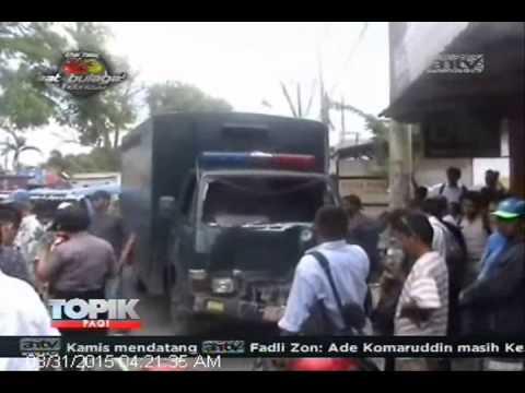 [ANTV] TOPIK Sopir Ugal-ugalan, Mobil Tahanan Tabrakan