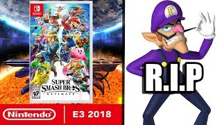 The Ultimate Smash Bros. Direct - Nintendo E3 2018 Review