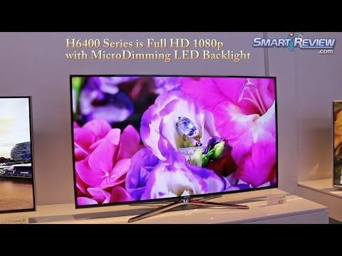 CES 2014   Samsung H6400 Series Smart TV   Full HD 1080p LED TV   UN55H6400. UN60H6400. UN65H6400