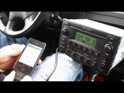GTA Car Kits - Volkswagen Jetta 2003-2005 install for iPhone, Ipod, AUX and MP3 factory stereo