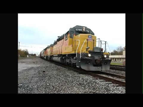Train-Watching Bald Knob AR 11-9-13 with Railfan Friends! Part 1