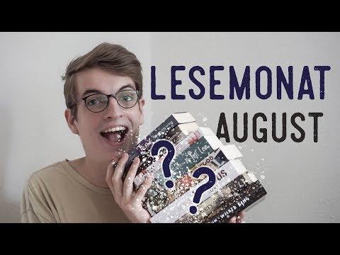 LESEMONAT August | 8 Bücher!!