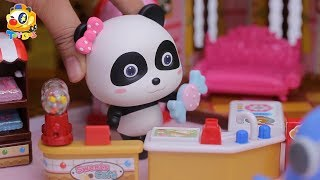 Baby Panda Makes Colorful Candies | Yummy Candy House | Play Doh for Kids | Toy Story | ToyBus