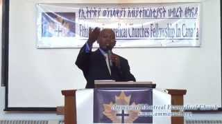Ammanuel Montreal Evangelical Church Preaching - Lets Find GOD
