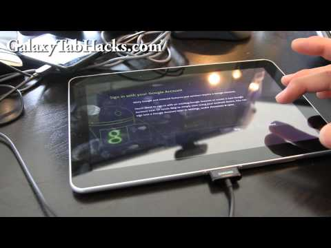 How to Unroot Galaxy Tab 10.1 Back to Stock!