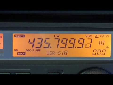 Tutorial on ham radio satellite tracking